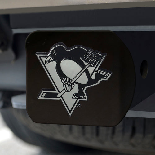 NHL - Pittsburgh Penguins Black Hitch Cover 4 1/2