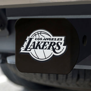 "NBA - Los Angeles Lakers Black Hitch Cover 4 1/2""x3 3/8"""
