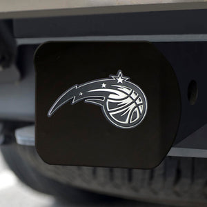 "NBA - Orlando Magic Black Hitch Cover 4 1/2""x3 3/8"""