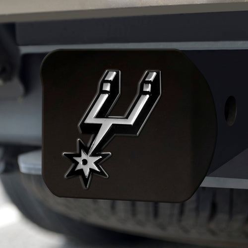 NBA - San Antonio Spurs Black Hitch Cover 4 1/2