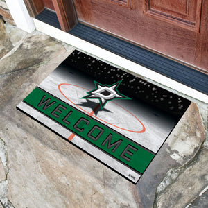 "NHL - Dallas Stars 18""x30"" Crumb RubberDoor Mat"