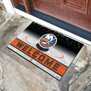 "NHL - New York Islanders 18""x30"" Crumb RubberDoor Mat"