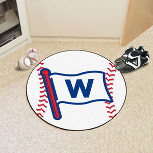 "MLB - Chicago Cubs Baseball Mat 27"" diameter"