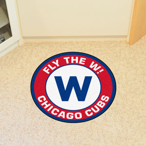 "MLB - Chicago Cubs Round Mat 27"" diameter"