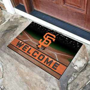 "MLB - San Francisco Giants 18""x30"" Crumb RubberDoor Mat"