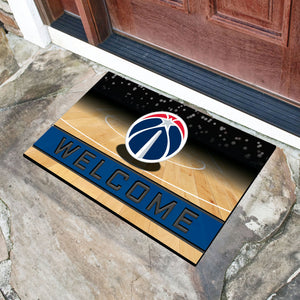 "NBA - Washington Wizards 18""x30"" Crumb RubberDoor Mat"