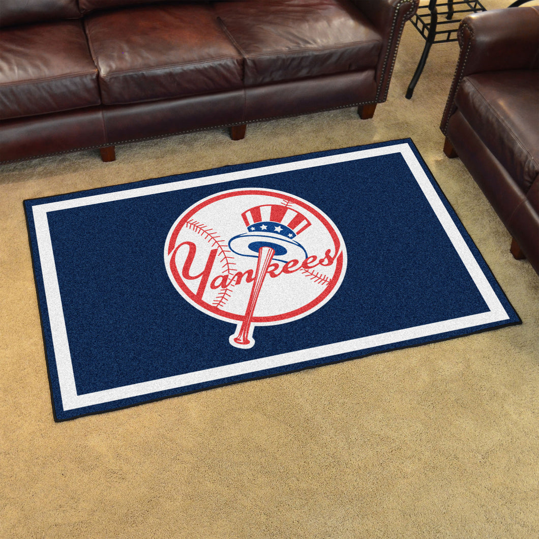 MLB - New York Yankees Primary Logo 4'x6' Rug