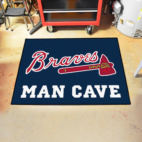 MLB - Atlanta Braves Man Cave All-Star Mat 33.75