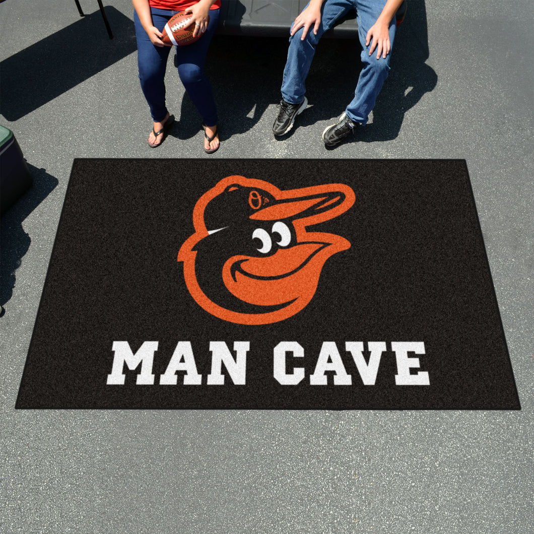 MLB - Baltimore Orioles Man Cave UltiMat 5'x8' Rug