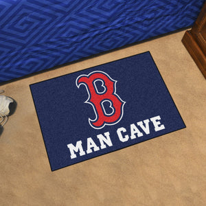 "MLB - Boston Red Sox Man Cave Starter Rug 19""x30"""