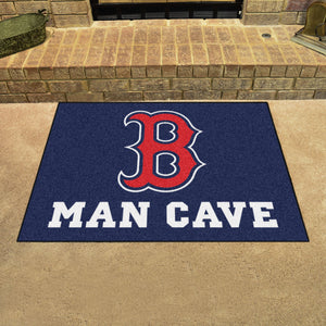 "MLB - Boston Red Sox Man Cave All-Star Mat 33.75""x42.5"""