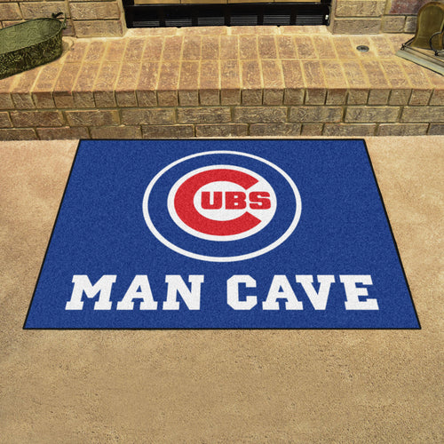 MLB - Chicago Cubs Man Cave All-Star Mat 33.75