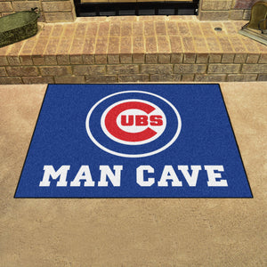 "MLB - Chicago Cubs Man Cave All-Star Mat 33.75""x42.5"""
