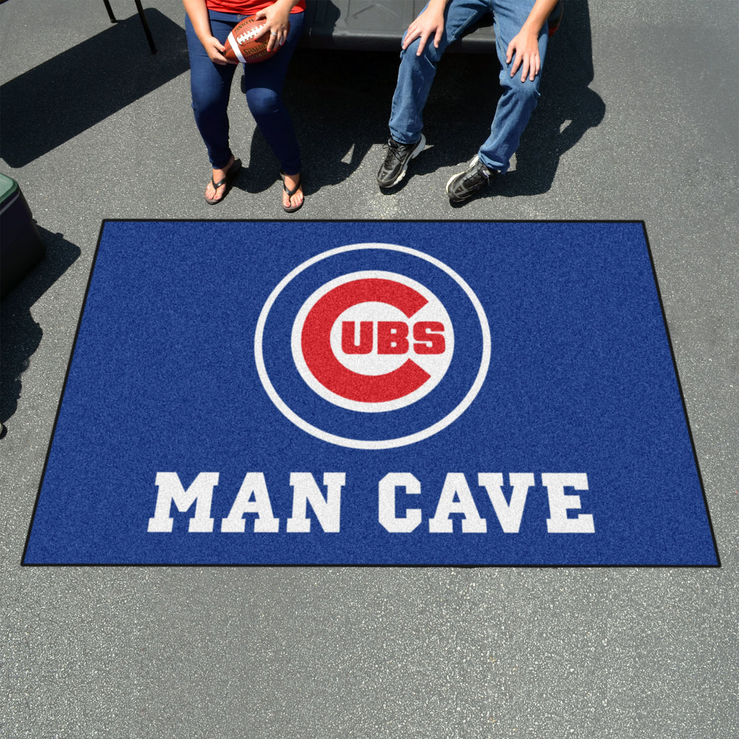 MLB - Chicago Cubs Man Cave UltiMat 5'x8' Rug