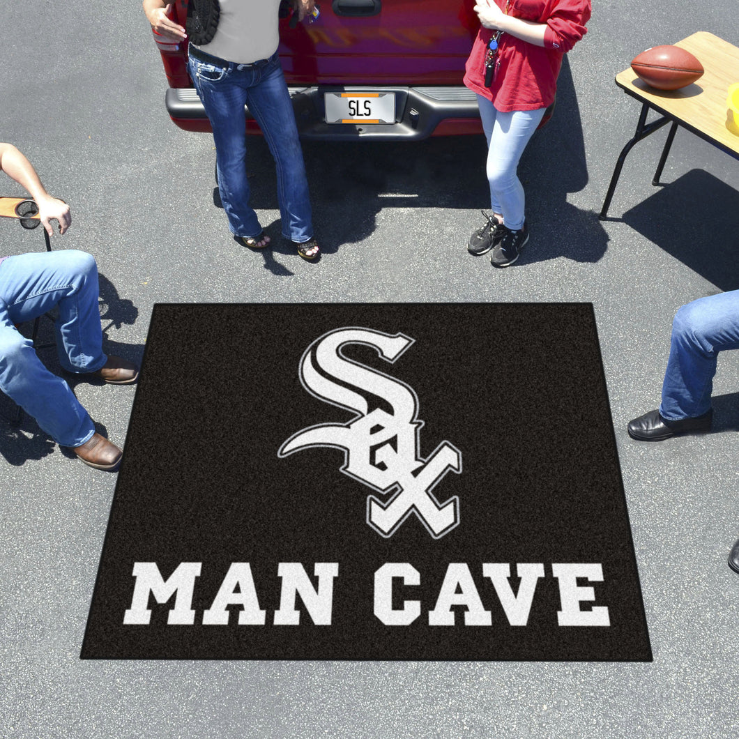 MLB - Chicago White Sox Man Cave Tailgater Rug 5'x6'