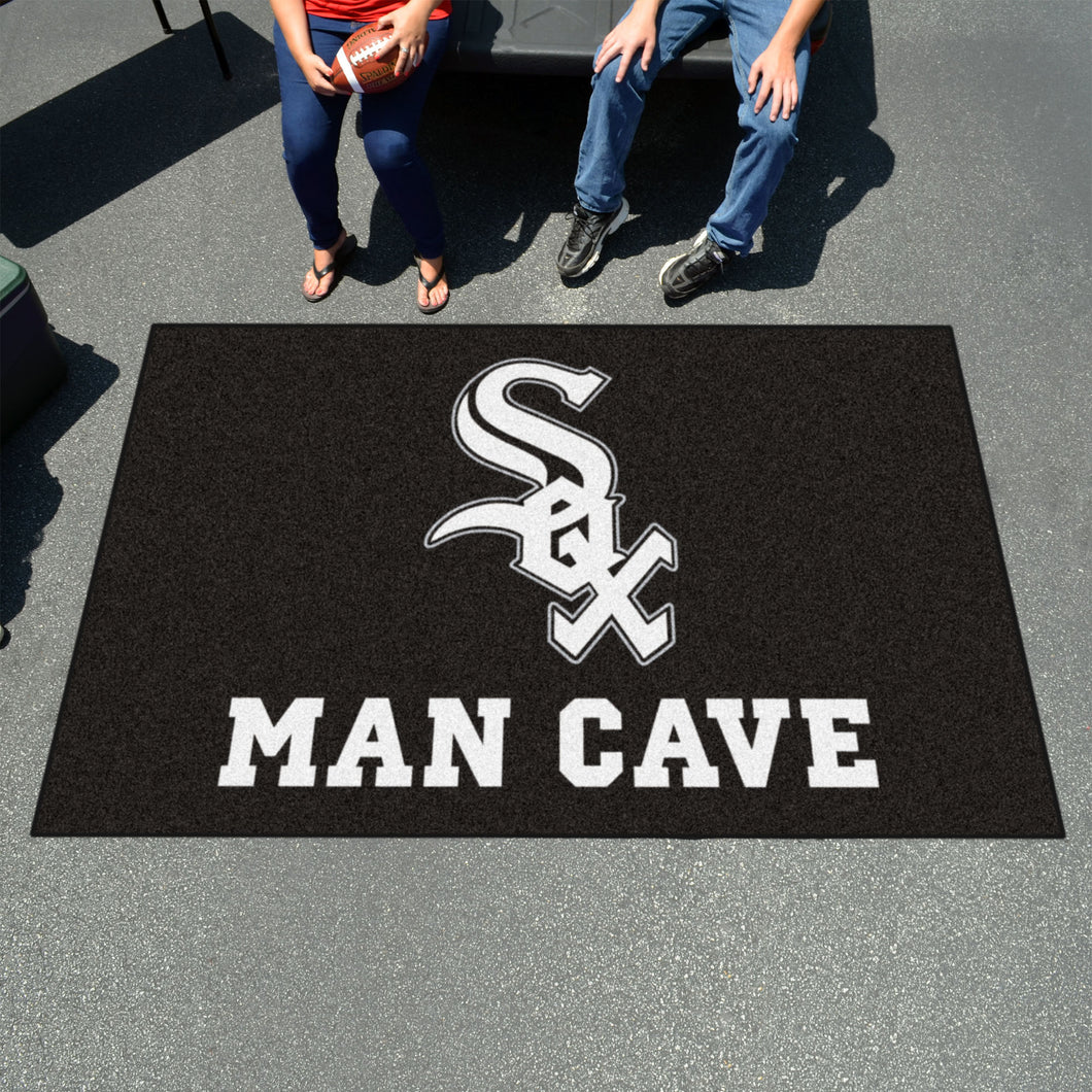 MLB - Chicago White Sox Man Cave UltiMat 5'x8' Rug