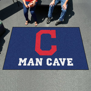 MLB - Cleveland Indians Man Cave UltiMat 5'x8' Rug