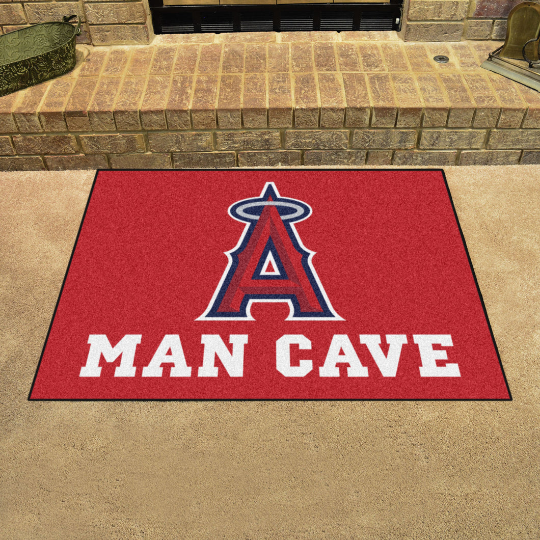 MLB - Los Angeles Angels Man Cave All-Star Mat 33.75