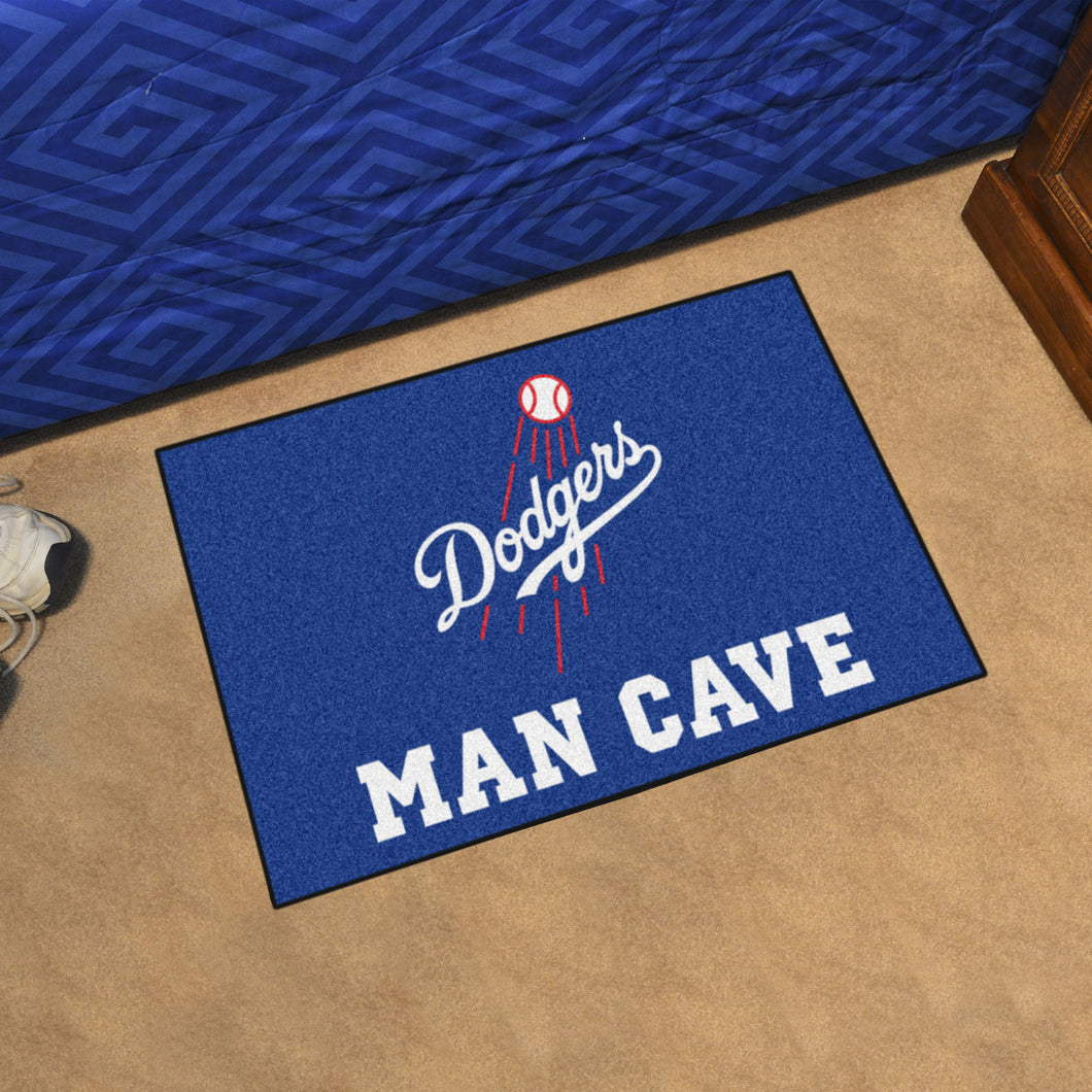 MLB - Los Angeles Dodgers Man Cave Starter Rug 19