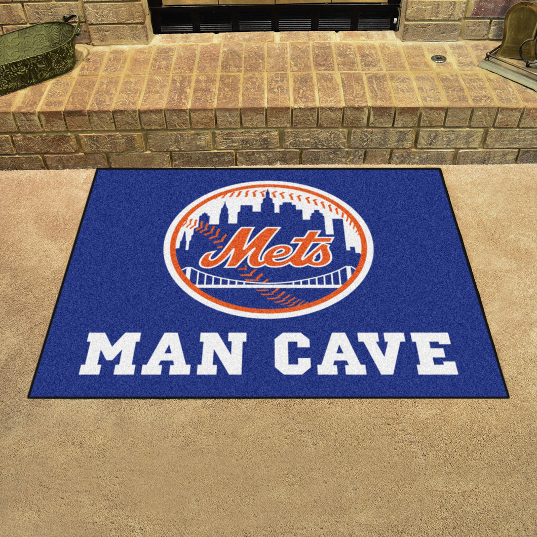 MLB - New York Mets Man Cave All-Star Mat 33.75