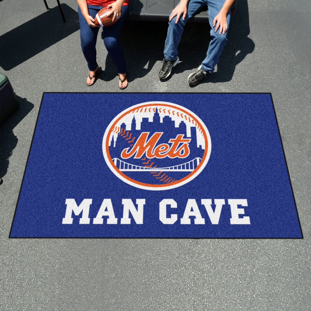 MLB - New York Mets Man Cave UltiMat 5'x8' Rug