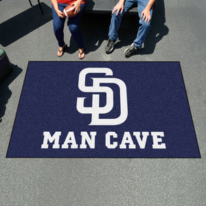 MLB - San Diego Padres Man Cave UltiMat 5'x8' Rug
