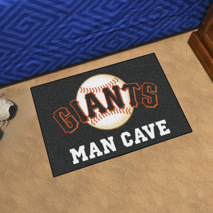 "MLB - San Francisco Giants Man Cave Starter Rug 19""x30"""