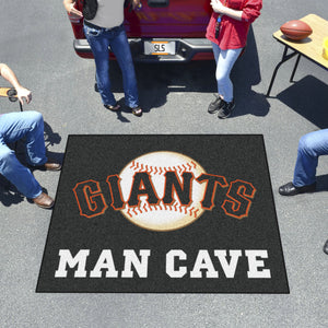 MLB - San Francisco Giants Man Cave Tailgater Rug 5'x6'