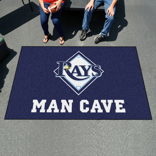 MLB - Tampa Bay Rays Man Cave UltiMat 5'x8' Rug