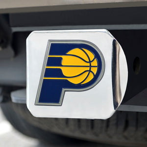 "NBA - Indiana Pacers Color Hitch Chrome 3.4""x4"""