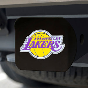"NBA - Los Angeles Lakers Color Hitch Black 3.4""x4"""