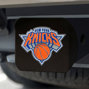 "NBA - New York Knicks Color Hitch Black 3.4""x4"""