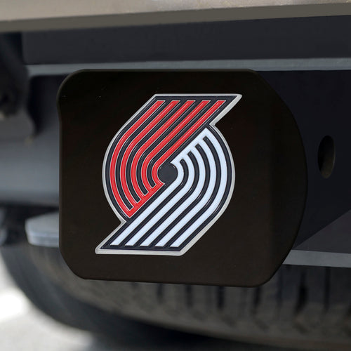 NBA - Portland Trail Blazers Color Hitch Black 3.4