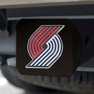 "NBA - Portland Trail Blazers Color Hitch Black 3.4""x4"""