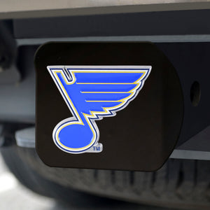 "NHL - St. Louis Blues Color Hitch Black 3.4""x4"""