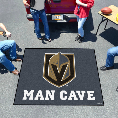 NHL - Vegas Golden Knights Man Cave Tailgater Rug 5'x6'