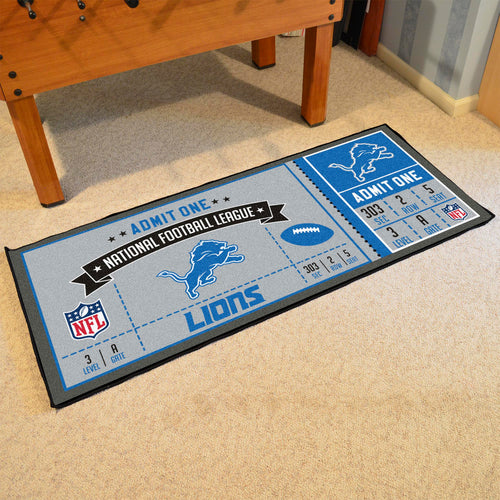 NFL - Detroit Lions Ticket Runner 30