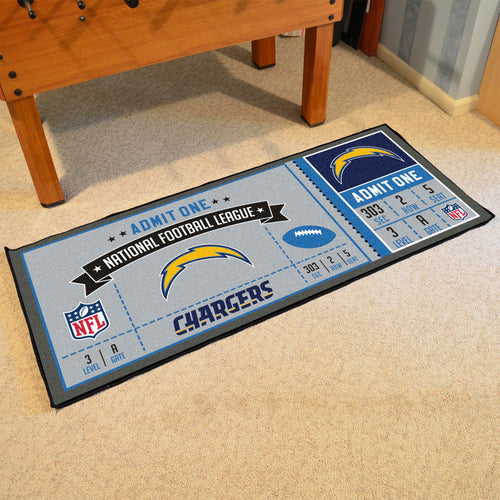 NFL - Los Angeles Chargers Ticket Runner 30