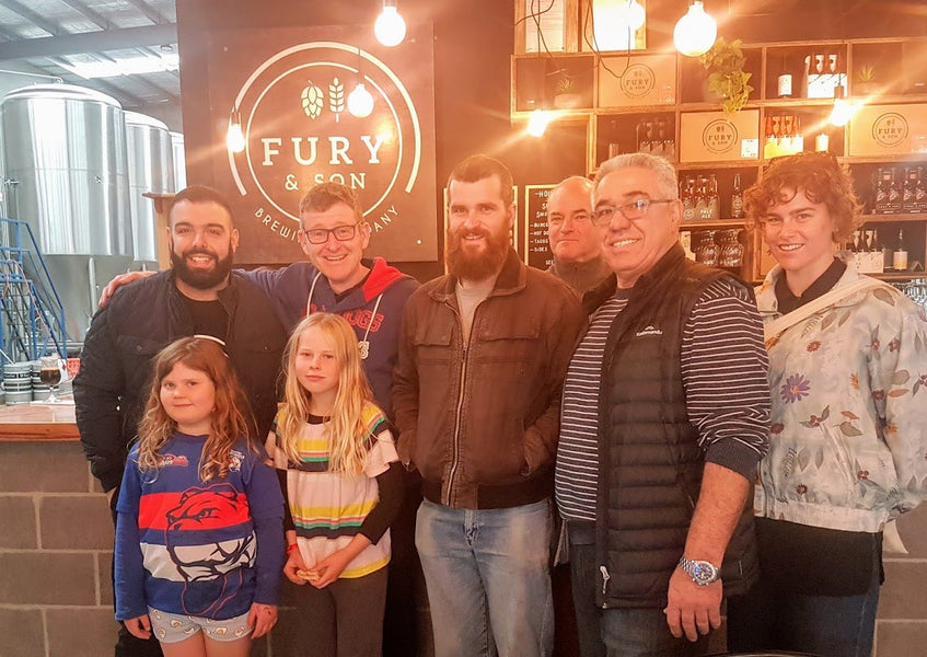 Fathers Day 2019 - Brewers Brunch at Fury and Son Brewing Company