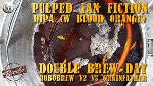 Pulp Fan Fiction DIPA - System Wars - Brew Day - Beer Recipe - Video