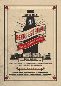 BEERFEST 2020 | The Melbourne Brewers