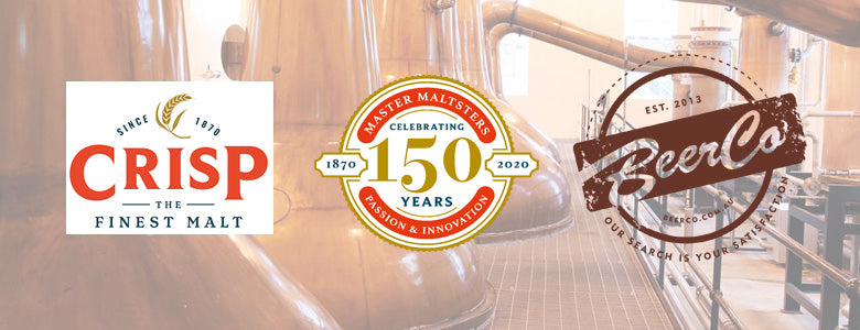 Learning Craft Distilling with Crisp Malt Webinar #001 - Tue 7th April 8PM AEDT