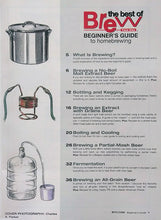 BYO BEGINNER'S GUIDE to homebrewing contents