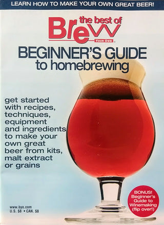 BYO BEGINNER'S GUIDE to homebrewing cover
