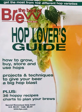 BYO HOP LOVER'S GUIDE COVER