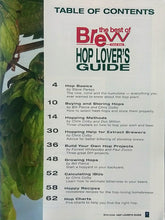 BYO HOP LOVER'S GUIDE CONTENTS