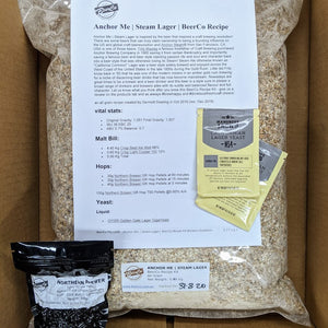 Anchor Me - Steam Lager - BeerCo All Grain Recipe Kit
