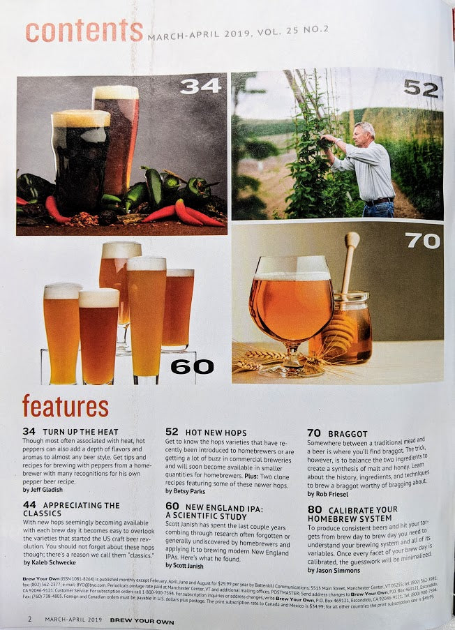 Brew Your Own - BYO Magazine - March-April 2019 - Vol  25, No  2