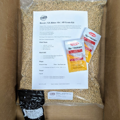 Brexit - XX Bitter Ale - BeerCo All Grain Recipe Kit