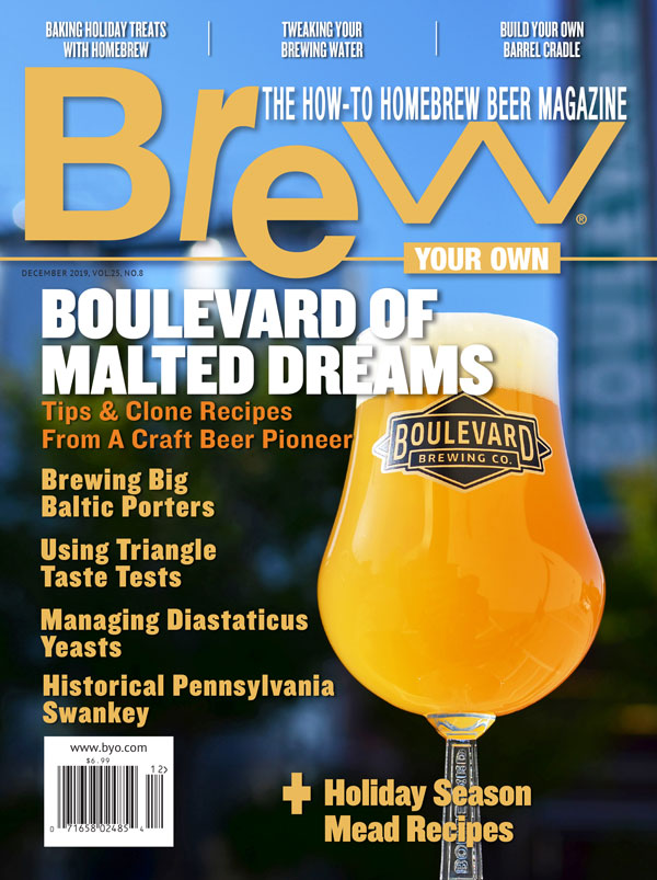 Brew Your Own - BYO Magazine - December 2019 - Vol. 25, No. 8